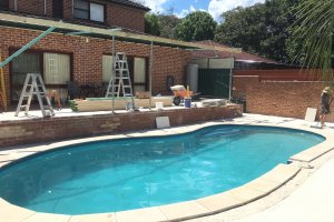 pool area progress 6